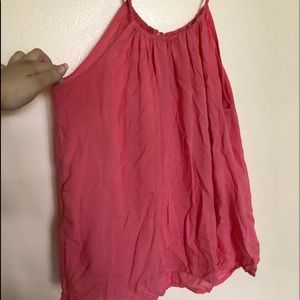H&M Sleeveless Pink Top